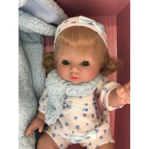 Кукла пупс-младенец Сара Munecas Berbesa 3213 А