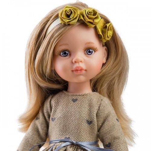 Кукла Карла с венком, 32 см Paola Reina, 0441