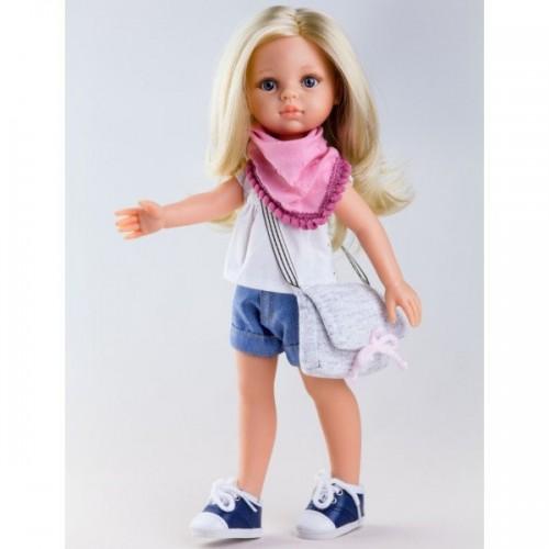 Кукла Клаудия с сумочкой, 32 см Paola Reina, 04441