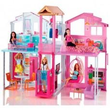 Домик для куклы Mattel Barbie DLY32 Барби Городской дом Малибу Mattel