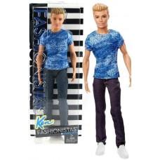 Кукла Барби Кен Игра с модой Barbie Fashionistas DGY67