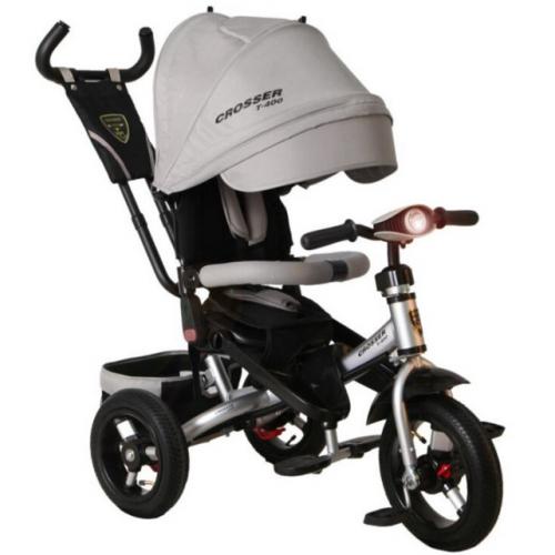 Трехколесный велосипед-коляска Azimut Crosser T-400