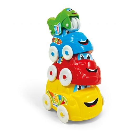 Башня с автомобилями Clementoni