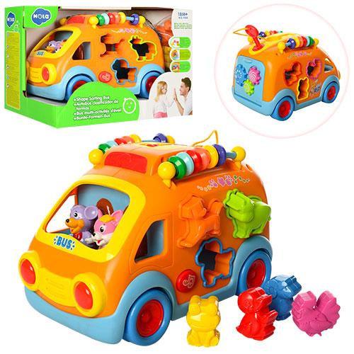 Развивающая игрушка-сортер HOLA 988 Автобус