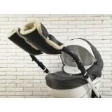 Рукавички-Муфта на коляску Z&D New Еко кожа