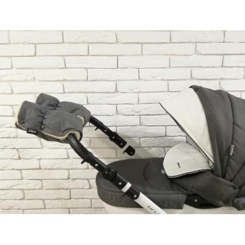 Рукавички-Муфта на коляску Z&D New Лен