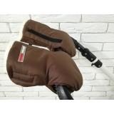 Рукавички-Муфта на коляску,с карманом для телефона. Z&D Thermo