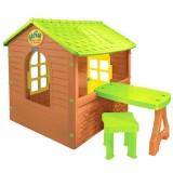 Детский домик садовый Mochtoys столик, табурет 12240