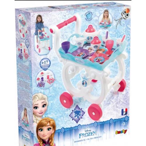 Сервировочный столик тележка  Frozen Smoby 310549