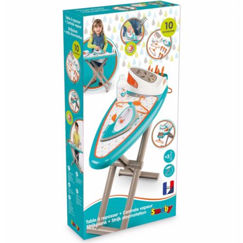Игровой набор Гладильная доска с утюгом и аксессуарами Smoby 330118