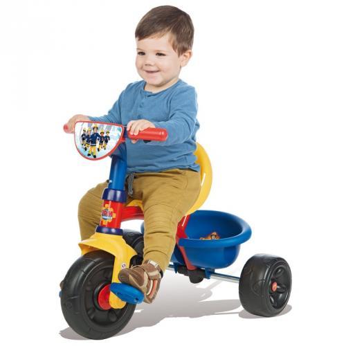 Велосипед пожарник SMOBY Sam 740304