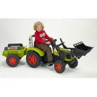 Детский трактор на педалях Falk 1040M Claas Arion 430