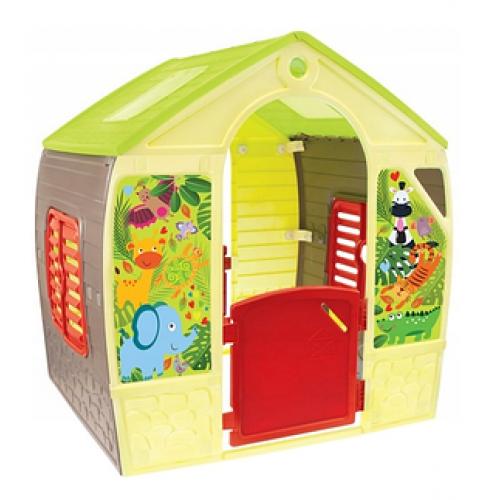 Детский пластиковый домик Mochtoys 11976