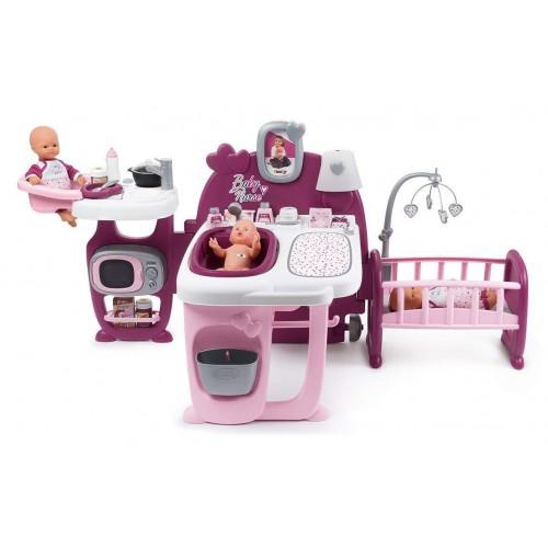 Центр для ухода за куклой Smoby Baby Nurse Прованс. Фуксия 220349
