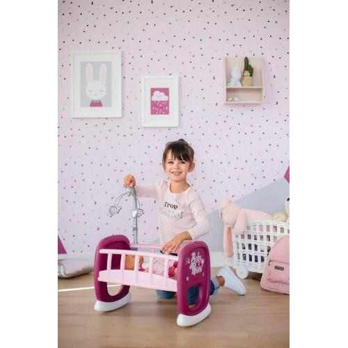Кроватка с для пупса Baby Nurse Smoby, Прованс 220343