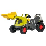 Трактор Kid Claas Elios с ковшом Rolly Toys 25077. Машинка для детей