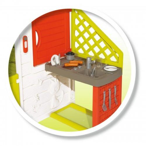 Игровой домик для детей Smoby 810202 с кухней и звонком