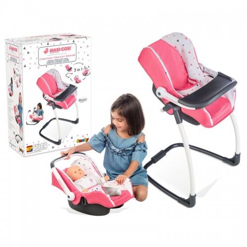 Кресло для куклы Smoby Maxi-Cosi & Quinny 3 в 1 240230