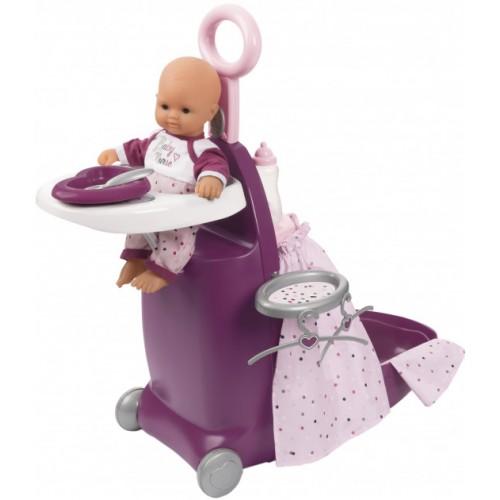 Раскладной Чемодан для ухода за куклой Smoby 220346