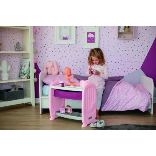 Кровать Smoby Baby Nurse Прованс  с аксессуарами 220353