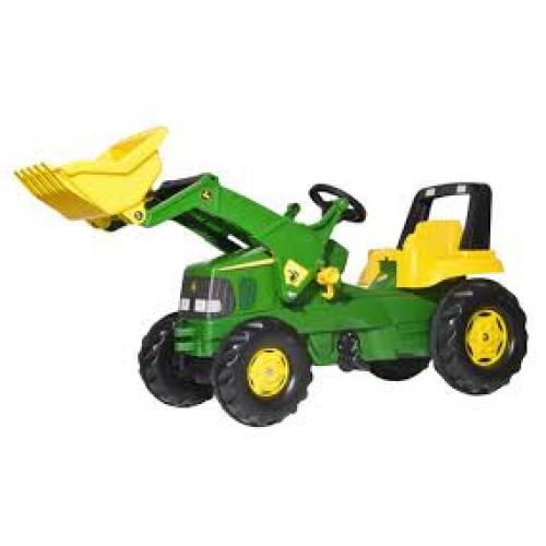 Трактор педальный Rolly Toys 46638. Машинка для детей