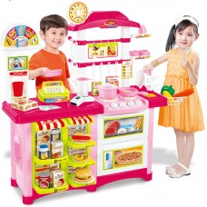Детская кухня-магазин 889-06 ( Kitchen center Fast Food )