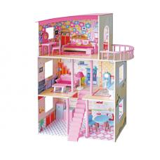 Деревянный домик для кукол С 3181