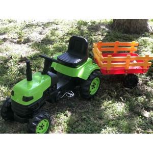 Педальный трактор DOLU 2005 зеленый