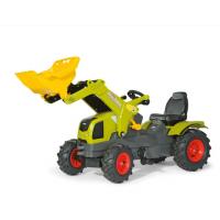 Детский педальный трактор с надувными колёсами Rolly Toys 611072 3-8 лет