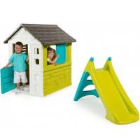 Детский домик с горкой Smoby 310068