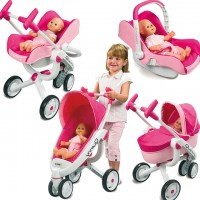 Коляска для кукол Smoby 550389 Maxi Cosi & Quinny 4в1