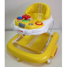 Детские ходунки CARRELLO  CRL-9601 желтый