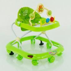 Детские музыкальные ходунки модель 258 (зеленый)