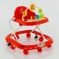 Детские музыкальные ходунки модель 258(красный)