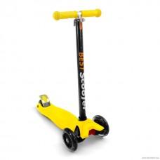 Самокат Best Scooter 466-113 со свет. колесами, руль до 90 см желтый