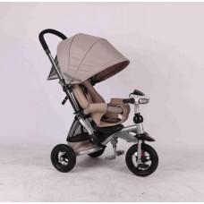 Детский трехколесный велосипед Azimut Crosser T-350 (бежевый)