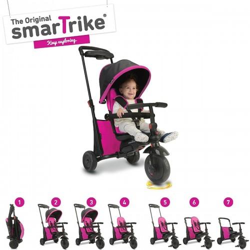 Складной трехколесный велосипед Smart Trike Folding Trike 500 7в1 (Pink)