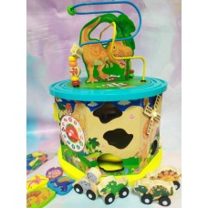 Деревянный логическeй куб Fun toys С 39183
