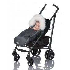 Конверт для новорожденных Baby XS на овчине с опушкой ТМ ДоРечі