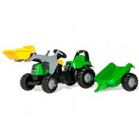 Детский педальный трактор Rolly Toys rollyKid Deutz-Fahr 23196