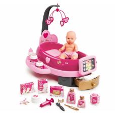 Игровой центр Baby Nurse для ухода за куклой с пупсом, Smoby Toys (220317)