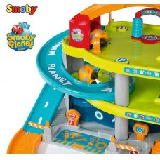 Гараж для машинок Vroom Planet Smoby 120401