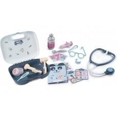 Игровой набор Smoby Toys Кейс Уход за куклой с аксессуарами для ухода и лечения (240301)