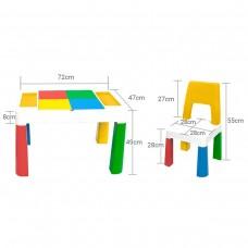 Столик и стульчик Poppet Color